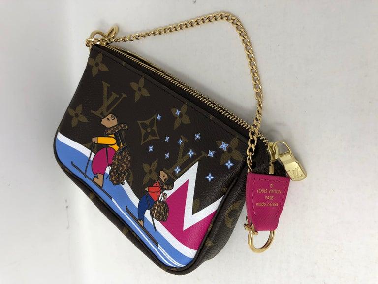 Women's or Men's Louis Vuitton Limited Edition Mini Pochette For Sale