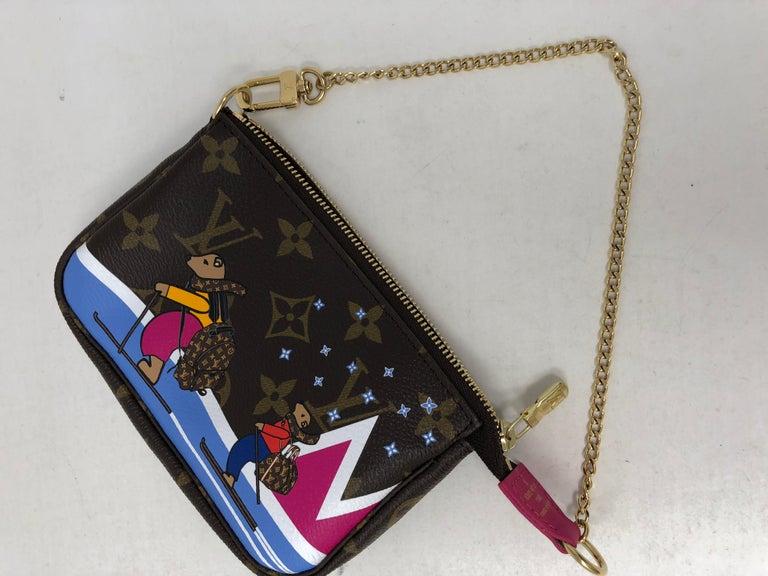 Louis Vuitton Limited Edition Mini Pochette For Sale 3