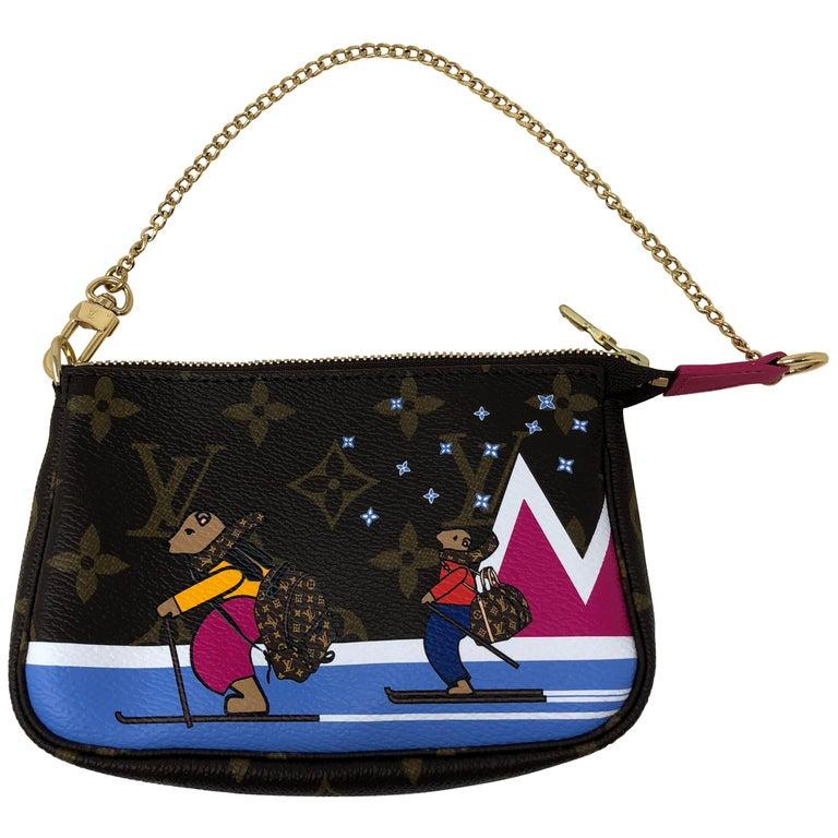 Louis Vuitton Limited Edition Mini Pochette For Sale