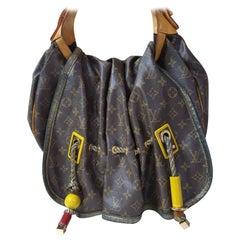 Louis Vuitton Limited Edition Monogram Canvas Kalahari GM Bag