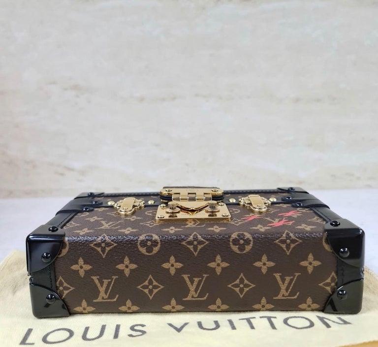 LOUIS VUITTON Limited Edition Monogram Canvas Petite Malle Bag For Sale 1