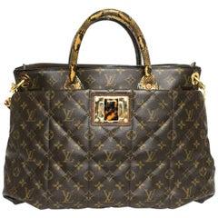 Louis Vuitton Limited Edition Monogram Etoile Exotique Tote GM Bag