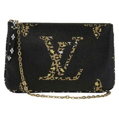 Louis Vuitton Limited Edition Monogram Giant Jungle Coated Canvas Crossbody Bag