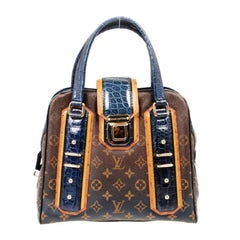 Louis Vuitton Limited Edition Monogram Mirage Delft Exotic Bag
