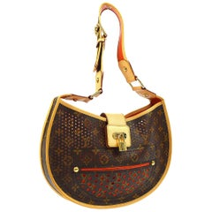 Louis Vuitton Limited Edition Monogram Top Handle Satchel Shoulder Bag in Box