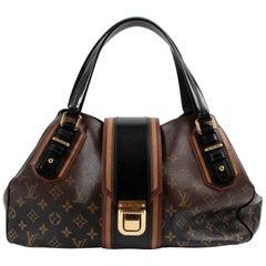 Louis Vuitton Limited Edition Noir Monogram Mirage Griet Bag