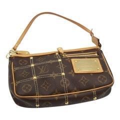 Louis Vuitton Limited Edition Riveting Accesoire Bag / Clutch