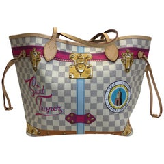 Louis Vuitton Limited Edition Saint Tropez Damier Neverful MM