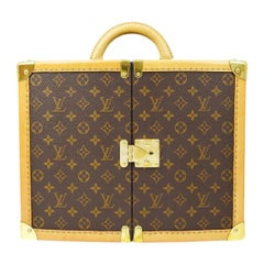 Louis Vuitton Limited Edition Sharon Stone Vanity Travel Weekend Trunk Case Bag