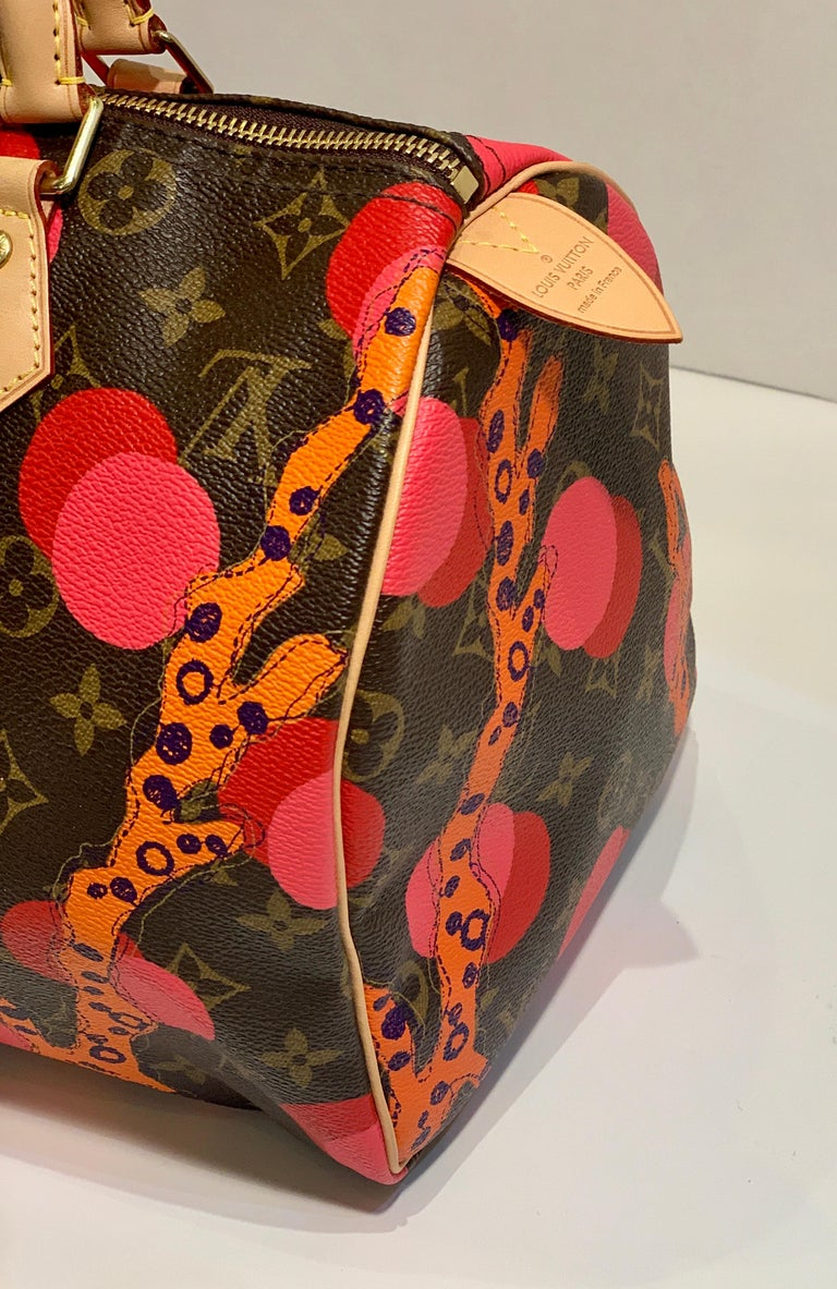 Women's Louis Vuitton Limited Edition Speedy 30 Grenade Ramages Monogram Canvas Purse For Sale