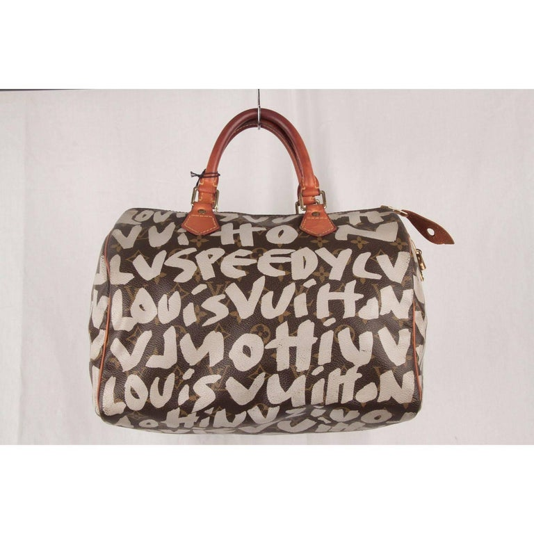 Louis Vuitton Limited Edition Stephen Sprouse Graffiti Speedy 30 Bag For Sale 1