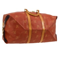 Louis Vuitton Limited Edition Top Handle Men's Travel Weekender Duffle Tote Bag