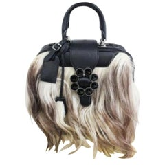 Louis Vuitton Limited Edition Transsiberian Goat Hair Tote Bag