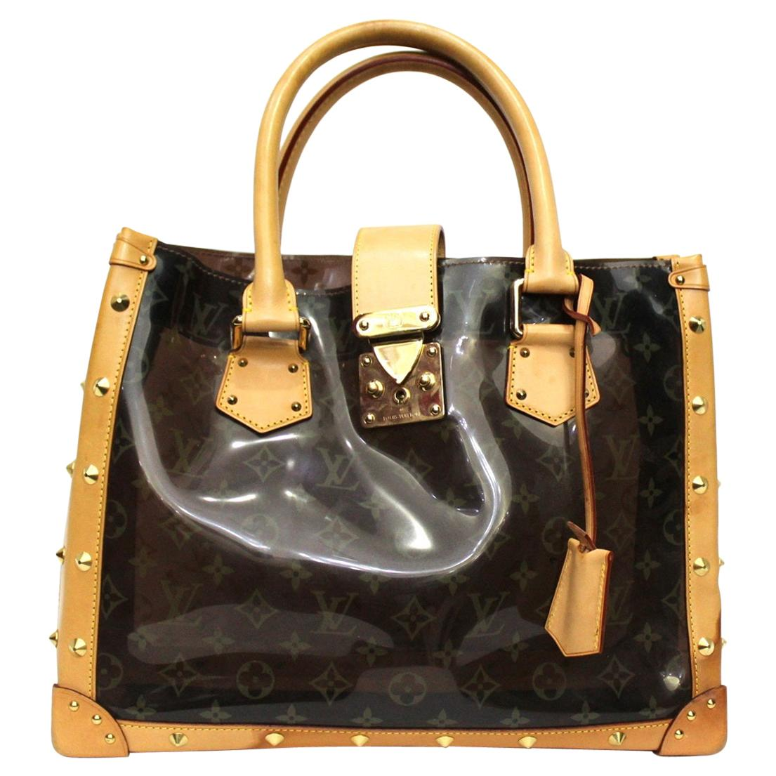 Louis Vuitton Limited Edition Vinyl Monogram Ambre Neo Cabas Cruise Bag
