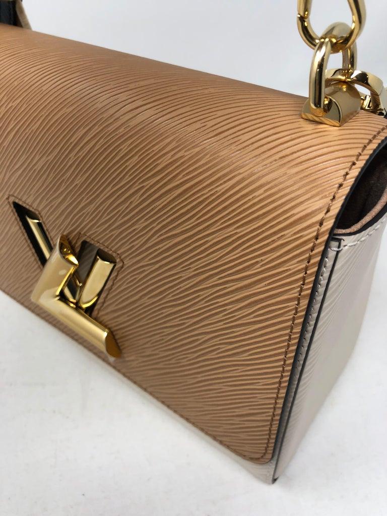 Louis Vuitton Limited Epi Leather Two-tone Twist Bag  For Sale 8