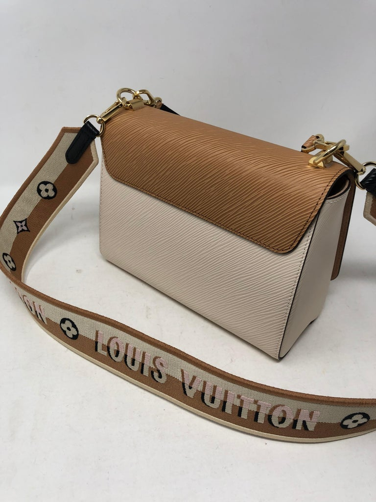 Women's or Men's Louis Vuitton Limited Epi Leather Two-tone Twist Bag  For Sale