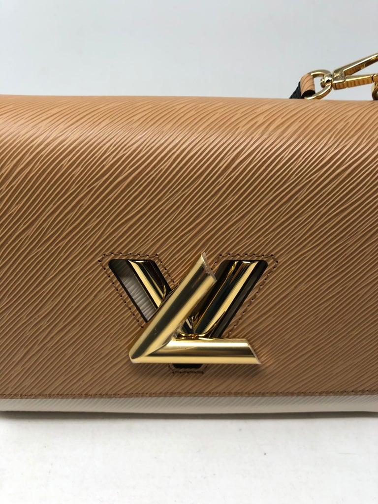 Louis Vuitton Limited Epi Leather Two-tone Twist Bag  For Sale 2