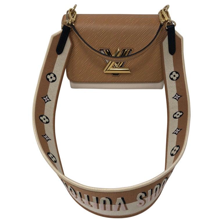 Louis Vuitton Limited Epi Leather Two-tone Twist Bag  For Sale