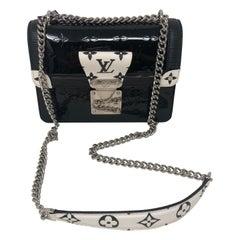 Louis Vuitton Limited Monogram Vernis Noir Crossbody Bag