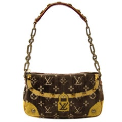 Louis Vuitton Limited Pochette Accessoire Trompe L'oeil Shoulder Bag
