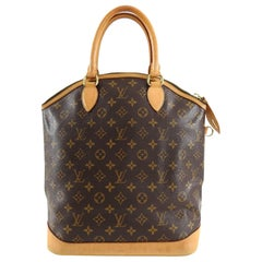 Louis Vuitton Lockit Vertical Monogram Double Handle Bag