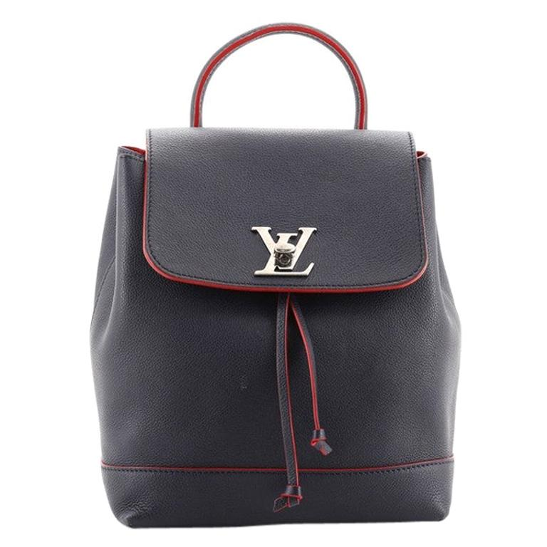 Louis Vuitton Lockme Backpack Leather For Sale