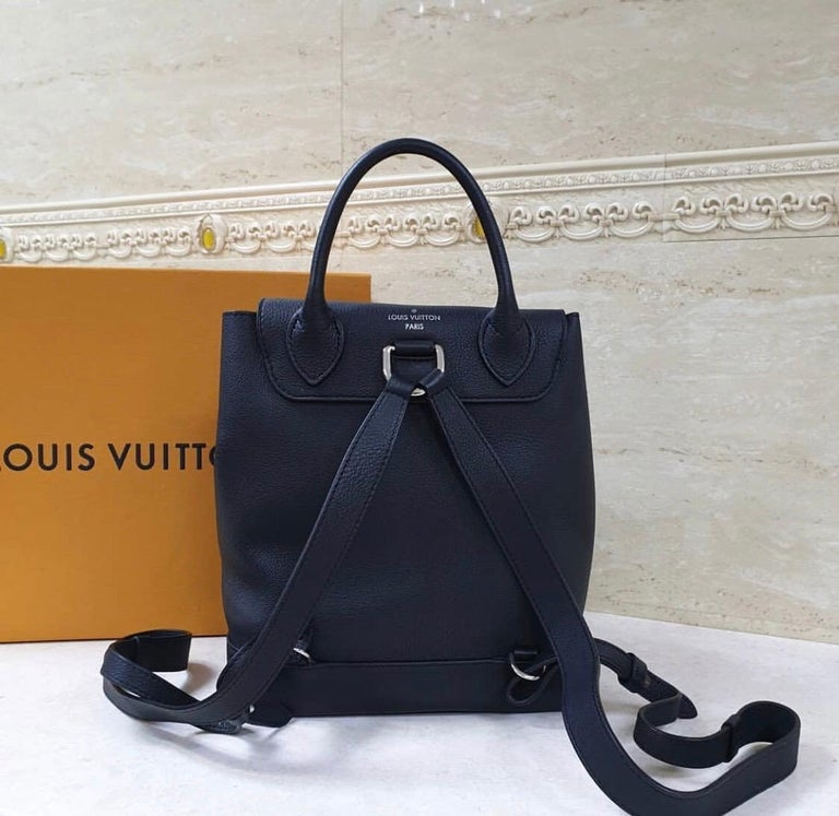 Women's Louis Vuitton  Lockme Black  Backpack