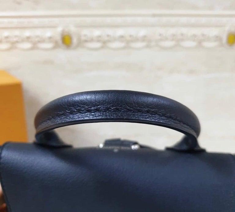Louis Vuitton  Lockme Black  Backpack 1