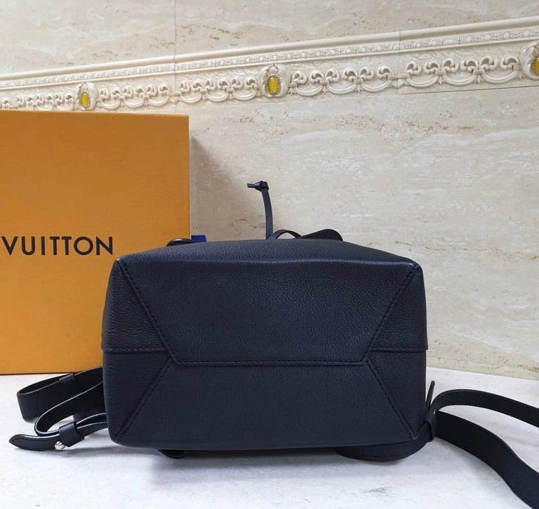 Louis Vuitton  Lockme Black  Backpack 2