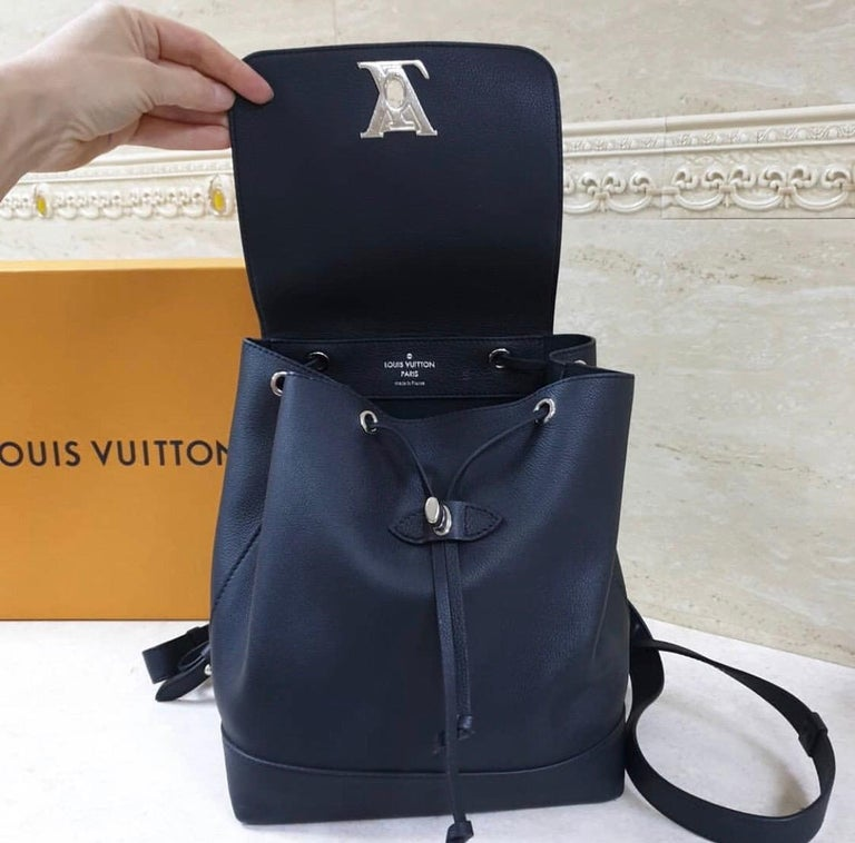Louis Vuitton  Lockme Black  Backpack 3