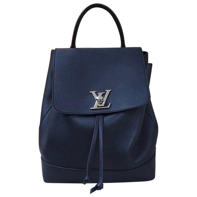 Louis Vuitton  Lockme Black  Backpack