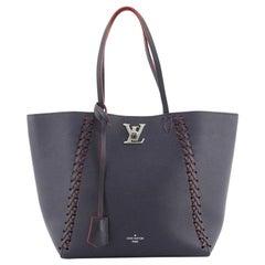 Louis Vuitton Lockme Cabas Braided Leather