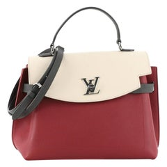 Louis Vuitton Lockme Ever Handbag Leather MM