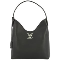 Louis Vuitton Lockme Hobo Leather