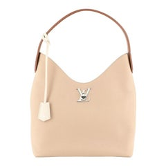 Louis Vuitton Lockme Hobo Leather