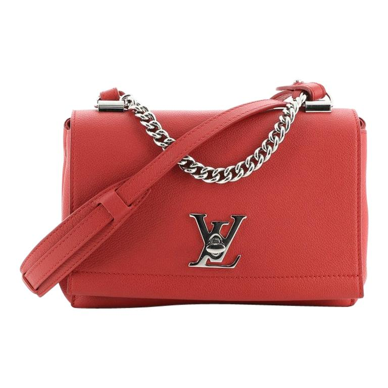 Louis Vuitton Lockme II Handbag Leather BB