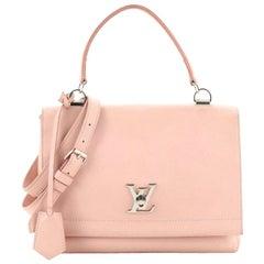 Louis Vuitton Lockme II Handbag Leather