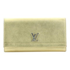 Louis Vuitton Lockme II Wallet Calfskin