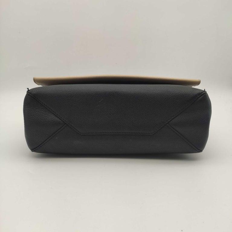 LOUIS VUITTON Lockme Shoulder bag in Beige Leather For Sale 1