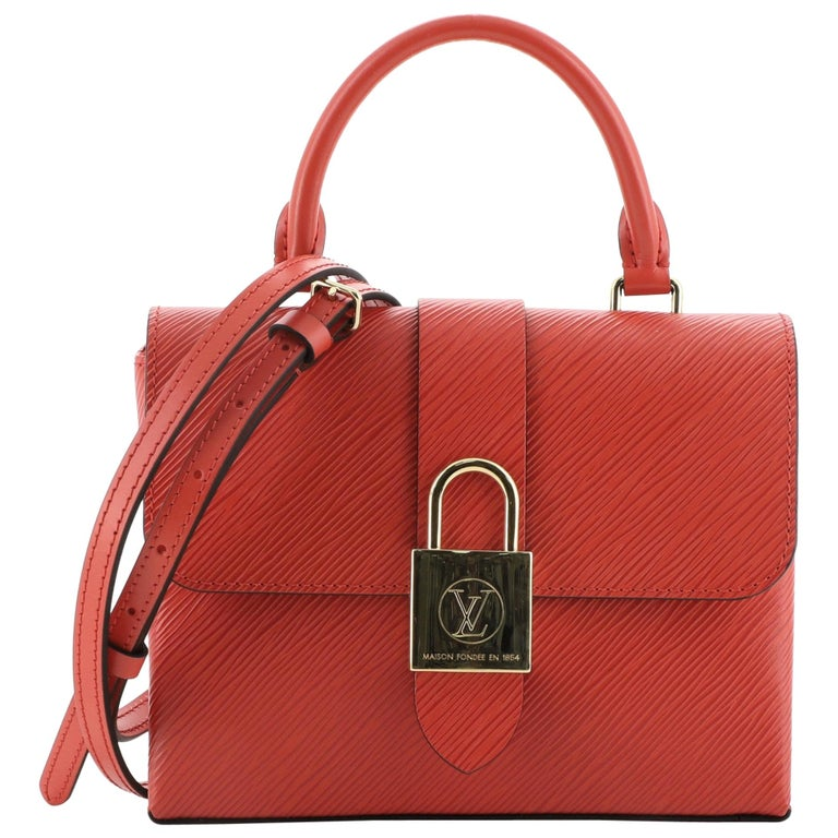 Louis Vuitton Locky Handbag Epi Leather BB For Sale