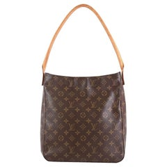 Louis Vuitton Looping Handbag Monogram Canvas GM