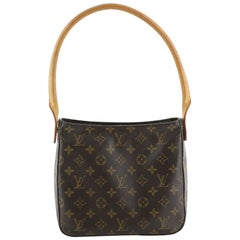 Louis Vuitton  Looping Handbag Monogram Canvas MM