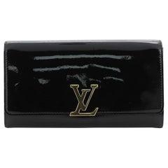 Louis Vuitton Louise Clutch Patent Long
