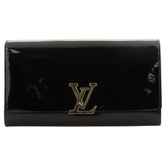 Louis Vuitton Louise Clutch Patent Long