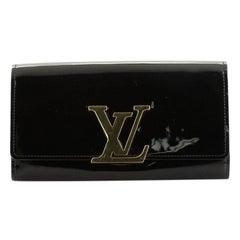 Louis Vuitton Louise Wallet Patent Long