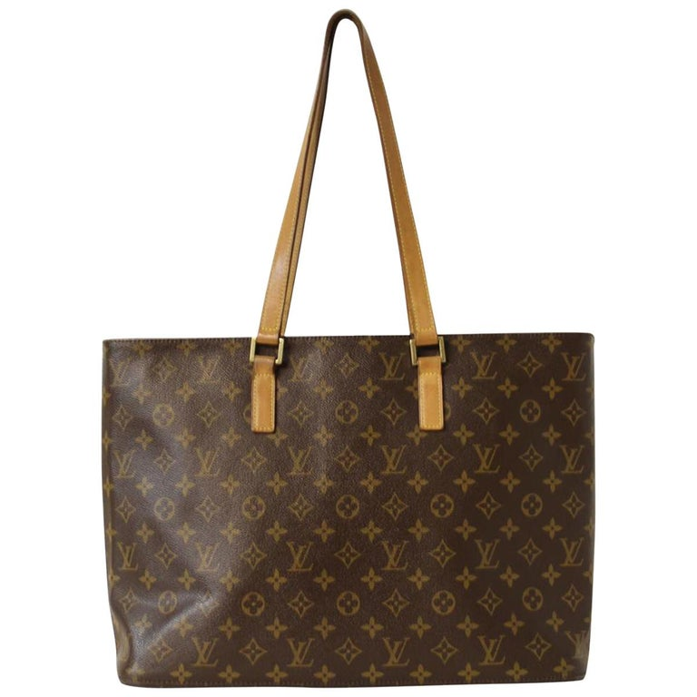 Louis Vuitton Luco Tote Shopping Bag For Sale