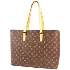 LOUIS VUITTON Luco Womens tote bag M51155 brown