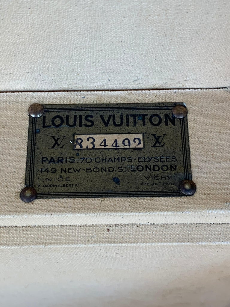 Louis Vuitton Luggage Trunk For Sale 4