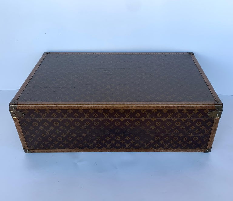 French Louis Vuitton Luggage Trunk For Sale