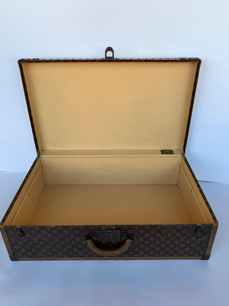 20th Century Louis Vuitton Luggage Trunk For Sale